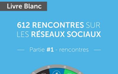 Le livre blanc «612 rencontres sur les réseaux sociaux» par Alban Jarry