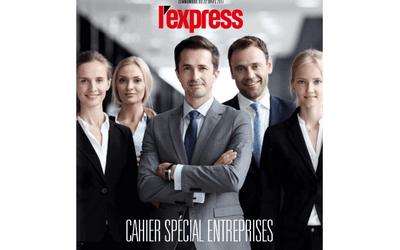 [Press] L'Express – Cahier spécial entreprises