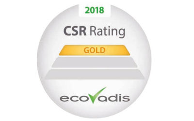 Quanteam receive the EcoVadis Gold Label for its CSR policy
