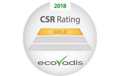[CSR] Quanteam receive the EcoVadis Gold Label for its CSR policy