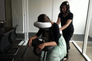 Massage semaine du handicap